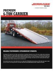 Jerr-Dan Premium 6-Ton Carrier - Twin State Equipment