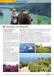 Paradies im Atlantik - Pferd & Reiter