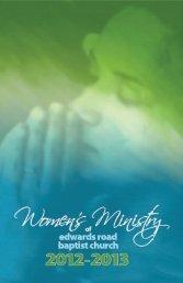 Women's Ministry Leadership Team - Edwards Road Baptist Church