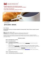 Dear colleagues, We would like to invite you to business-breakfast ...