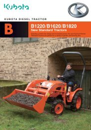 B1220/B1620/B1820 - Kubota (Deutschland)