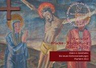 Pfarrbrief 24 - Ostern 2013 - Pfarreiengemeinschaft Gersthofen