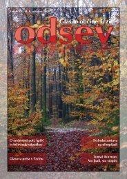 oktobrska - Planinsko društvo Onger Trzin