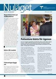 Patientens bästa för ögonen - Vgregion.se - Västra Götalandsregionen