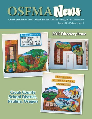 Summer 2012 Vol 26 Issue 1 - OSFMA