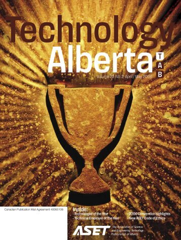 Technology Alberta Apr-May.06 - ASET