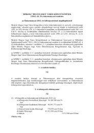MISKOLC MEGYEI JOGÚ VÁROS KÖZGYŰLÉSÉNEK 2/2012. (II. 29 ...