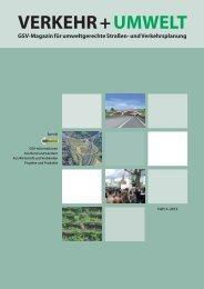Artikel in VERKEHR + UMWELT 3/2012 auf Seite 6-10 - Geotex GmbH