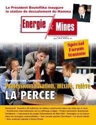 Revue n° 09 - Ministère de l'énergie et des mines