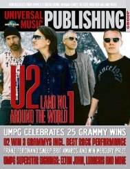 elton john, ludacris and more - Universal Music Publishing
