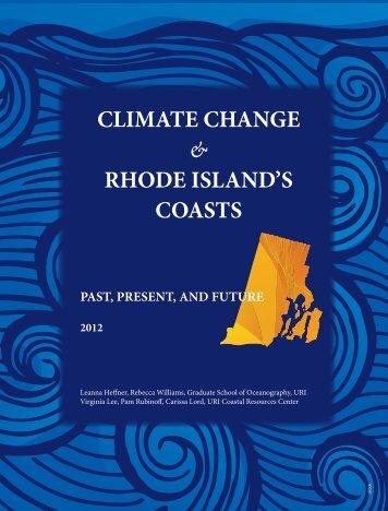Climate Change & Rhode Island's Coasts - Rhode Island Sea Grant ...