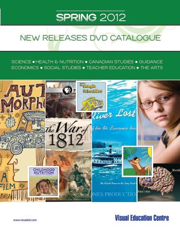 NEW RELEASES DVD CATALOGUE - Visual Education Centre Blog