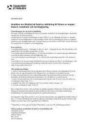 Ansökan om tillstånd att bedriva utbildning till ... - Körkortsportalen