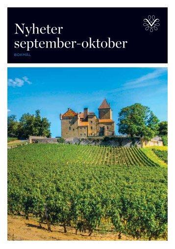 Katalog med nyheter i basisutvalget for perioden september/oktober ...
