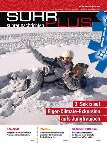 3. Sek b auf Eiger-Climate-Exkursion aufs Jungfraujoch
