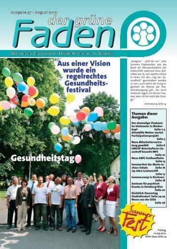 Faden - St. Elisabeth-Verein ev