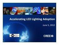 INNOVATION WATCH: Accelerating LED Lighting Adoption
