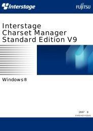 Interstage Charset Manager Standard Edition V9 使用手引書 入力 ...