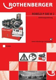 BA ROWELD P 500 W 2 Ende.cdr - Rothenberger South Africa