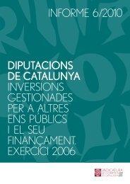 Informe 6/2010 - Seu Electrònica - Diputació de Barcelona