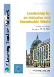 berlin conference 2011 - The Learning Teacher Network