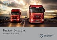 Der Axor. Der Actros. - Mercedes-Benz Luxembourg