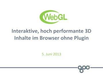 WebGL - webdevFulda