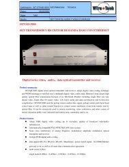 OTVAD-3000 SET TRANSMISOR Y RECEPTOR DE ... - Wire-Tech