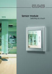 Sensor module - JUNG