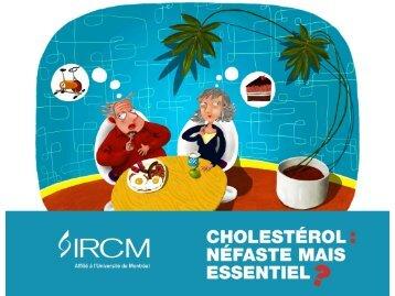 Alimentation et cholestérol - IRCM