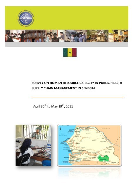 survey on human resource capacity in public health supply chain ...
