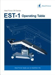 EST-1Operating Table - WTEC