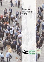 Bilancio consuntivo 2008 - Cooperativa di Costruzioni Modena