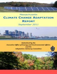 MA Climate Change Adaptation Report