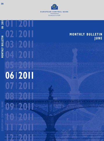 Monthly Bulletin June 2011 - European Central Bank - Europa