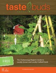 The Chattanooga region's Guide to Locally-Grown ... - Gaining Ground
