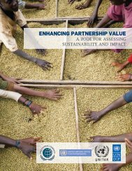 UN Global Compact: Enhancing Partnership Value - CSR WeltWeit