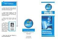 Kurzbeschreibung WerBi - WerFi-Software & IT-Service GmbH