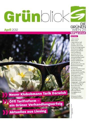 April - Liesing - Die Grünen