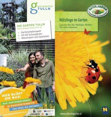 Nützlinge im Garten [4,36 MB] - Natur im Garten