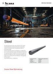 Scana Steel Björneborg - Scana Industrier ASA