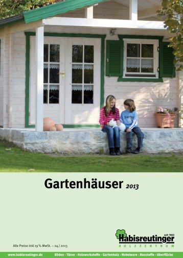 Gartenhäuser 2013 - Frank Kolb
