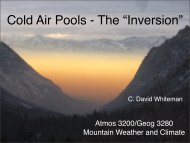 Lecture 19: Cold-air pools (pdf)
