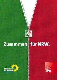 Koalitionsvertrag 2010-2015 (PDF) - SPD-Landtagsfraktion NRW