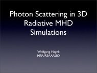 (magneto)hydrodynamical simulations of cool stellar atmospheres