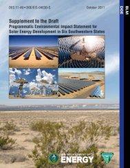 Supplement - U.S. Department of Energy