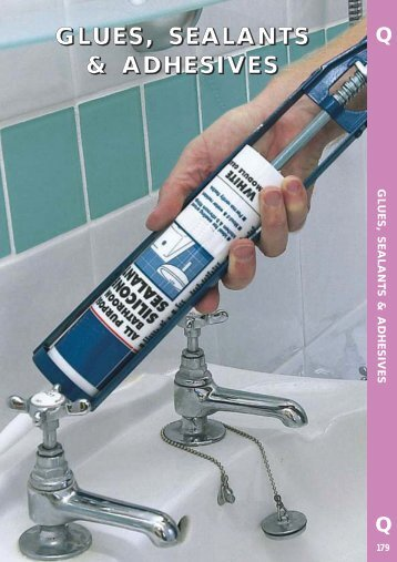 Glues & Adhesives leaflet - toolequip.ie