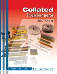 Collated Fasteners - All Fasteners