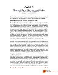 Mengenali Jurus Aksi Korporasi Emiten - Web Blog Agus Dwi Sasono