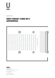 rWe Forum | Kino im u Grundriss - Dortmunder U